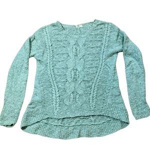 Anthropologie Moth Hi Low Sweater Size M